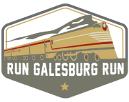 run galesburg run logo